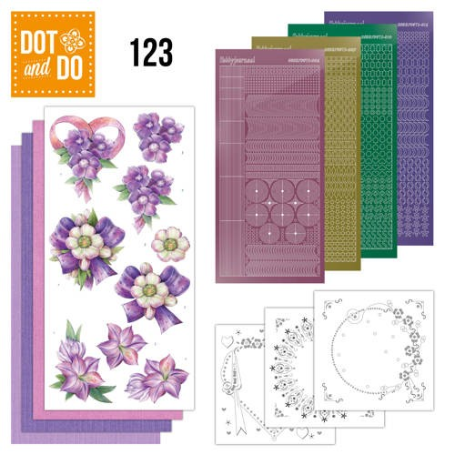 Dot+Do 123: Purple Flowers