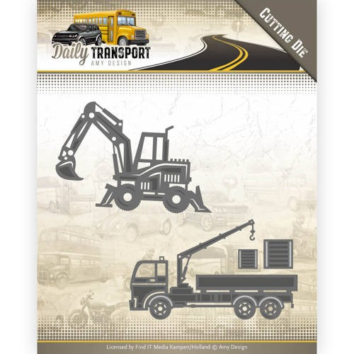 Amy Design: Daily Transport; Die - Construction Vehicles