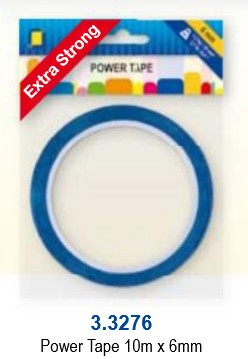 JeJe: POWER tape 6 mm - rol 10 meter