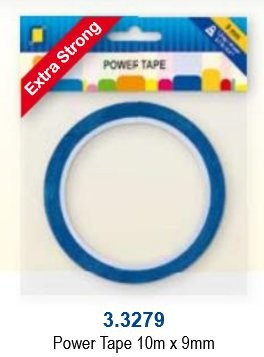 JeJe: POWER tape 9 mm - rol 10 meter