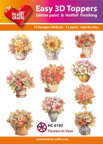 HC: Easy 3D; Flowers in Vase