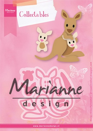 MD: Collectable 1446; Eline`s kangaroo & baby
