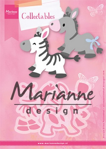 MD: Collectable 1447; Eline`s zebra & donkey