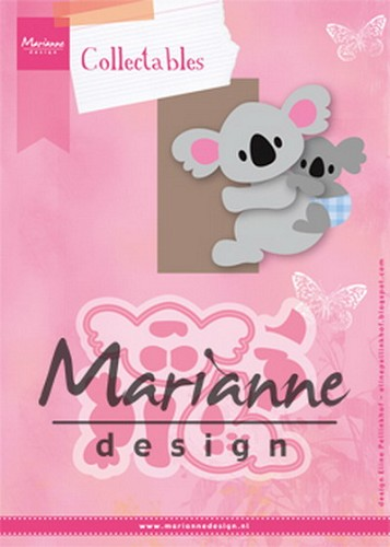 MD: Collectable 1448; Eline`s koala & baby