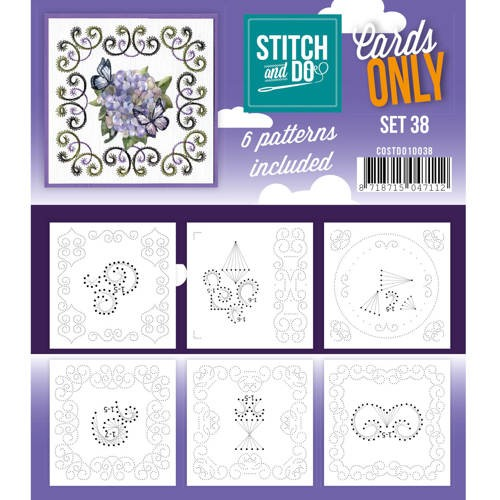 Cards Only Stitch 38