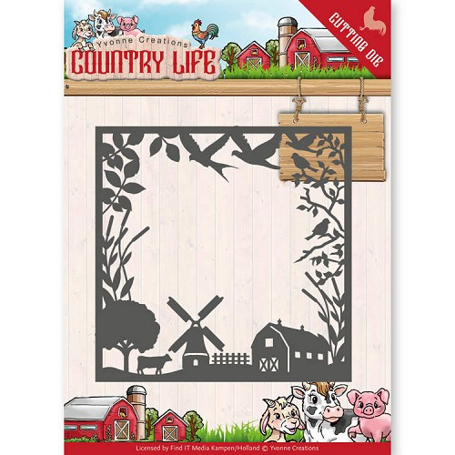 Yvonne Creations: Country Life; Dies - Country Life Frame