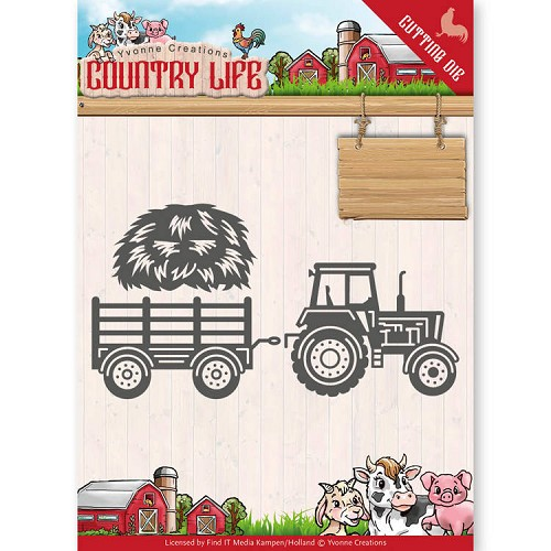 Yvonne Creations: Country Life; Dies - Tractor
