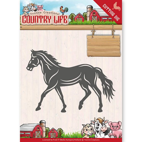 Yvonne Creations: Country Life; Dies - Horse