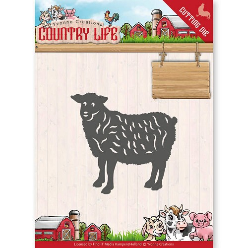 Yvonne Creations: Country Life; Dies - Sheep