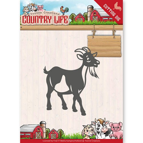 Yvonne Creations: Country Life; Dies - Goat