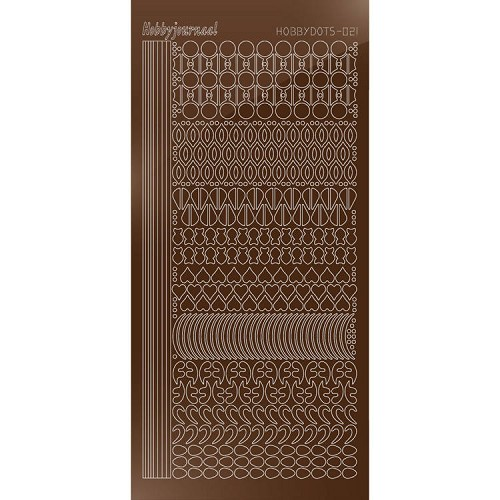 Hobbydots: Serie 21; Mirror - Brown