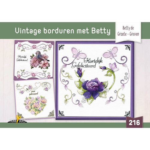 Hobbydols 216: Vintage Borduren met Betty