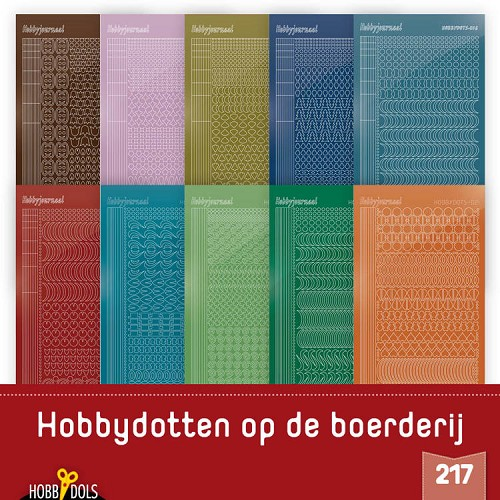 Hobbydols 217: Stickerset