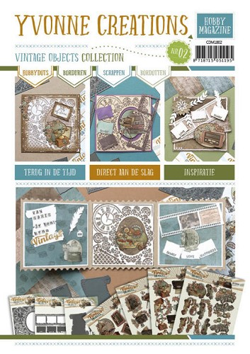 Yvonne Creations: Vintage Objects; Hobby Magazine 2