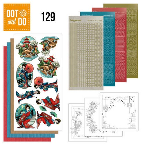 Dot and Do 129: Amy - Oriental