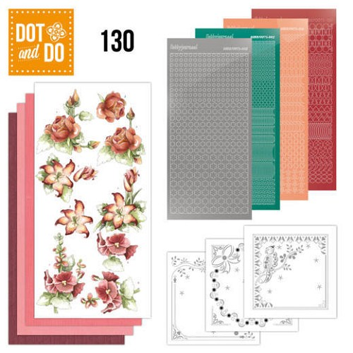 Dot and Do 130: Marieke; Timeless Red Flowers