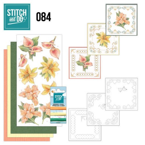Stitch and Do: 84 - Yellow Flowers