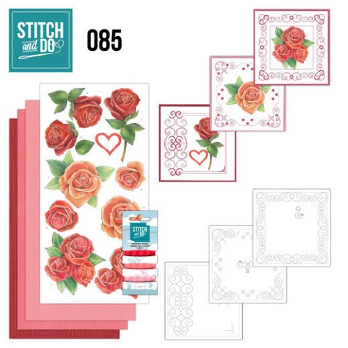 Stitch and Do: 85 - Roses
