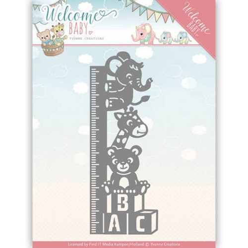 Yvonne Creations: Welcome Baby; Die - Growt Chart