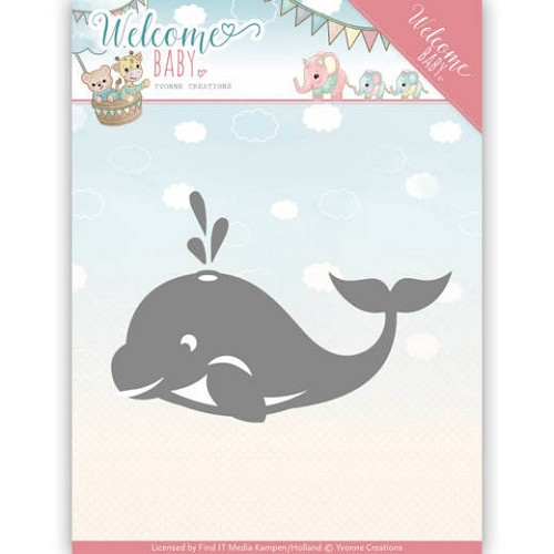 Yvonne Creations: Welcome Baby; Die - Little Orca