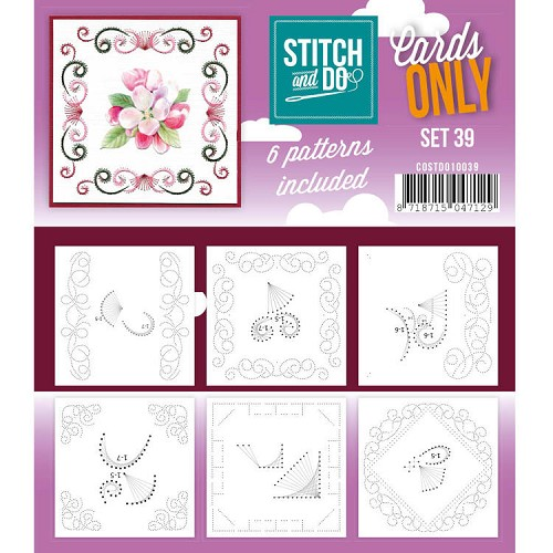 Stitch and Do: Cards Only; set 39