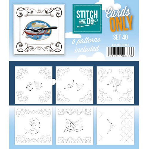 Stitch and Do: Cards Only; set 40