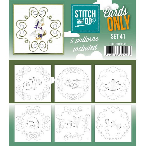 Stitch and Do: Cards Only; set 41