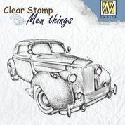 NS: Clear Stamp; Men`s Things - Oldtimer