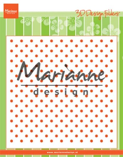 MD: 3D Design Folder; Polka Dots