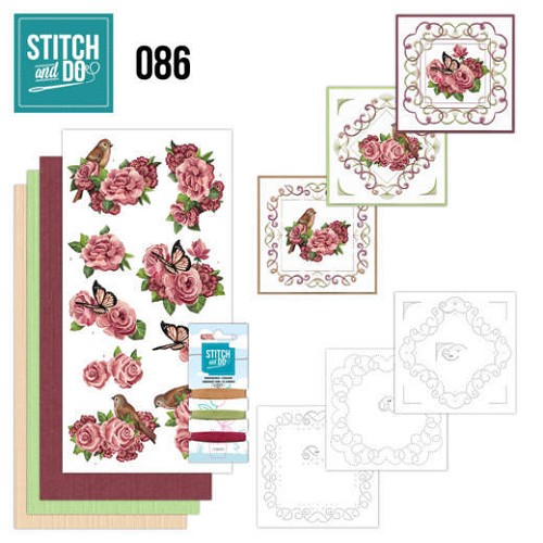 Stitch and Do: 86 - Birds and Roses