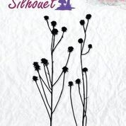 NS: Clearstamp; Silhouette - Herbs 2