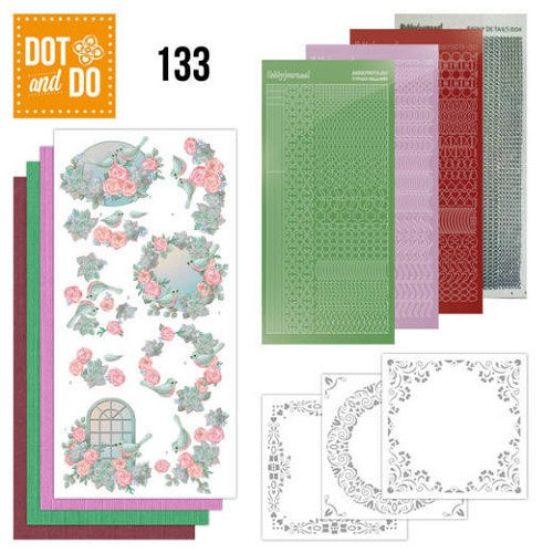 Dot and Do 133; Birds and Roses