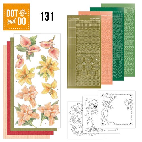 Dot and Do 131; Yellow Flowers