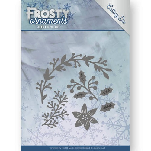 Jeanine: Frosty Ornaments; Dies - Christmas Branches