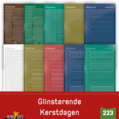 Hobbydols 223: Stickerset