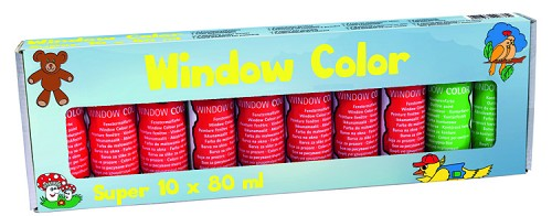 Windowcolor Super Set: 10 x 80 ml