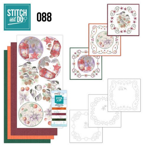Stitch and Do 88: Christmas Florals
