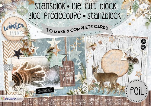 SL: FolieStansblok A5 - Winter Feelings