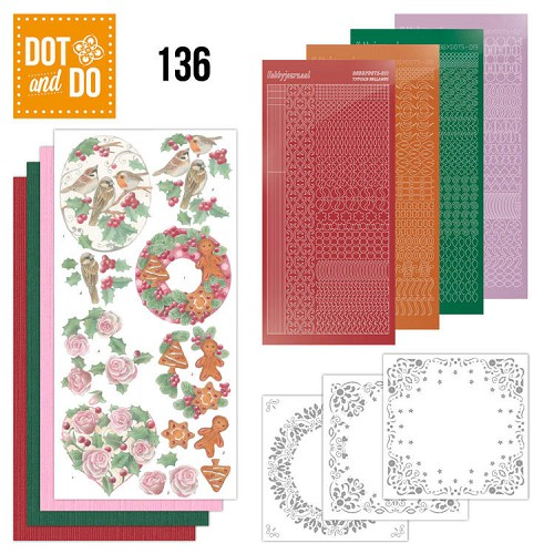 Dot and Do 136; Christmas Florals