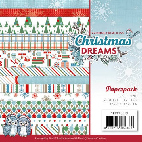 Yvonne Creations: Christmas Dreams; Paperpack
