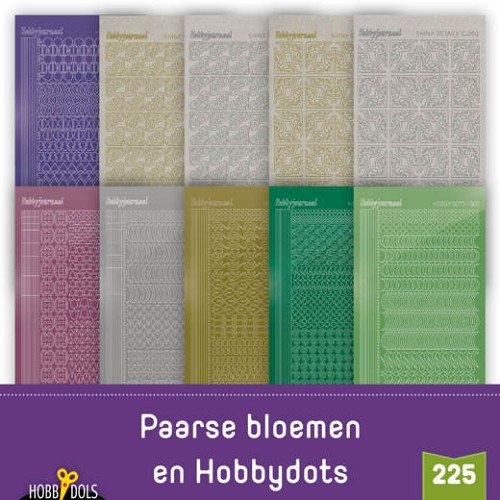 Hobbydols 225; STICKERSET