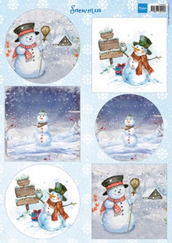 MD: Knipvel Snowman Circles and Squares