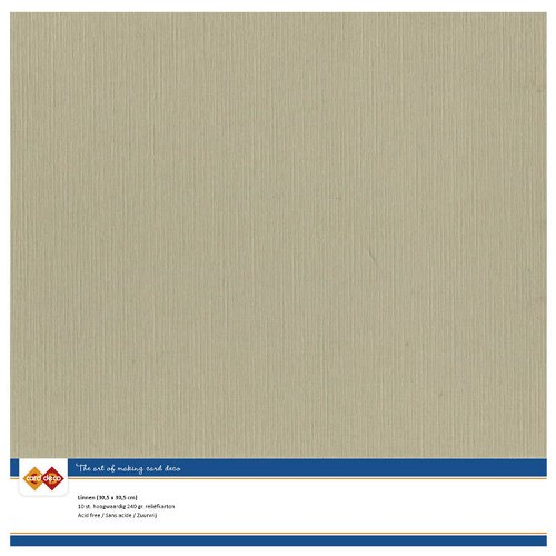 CD: Linnenkarton; Scrap - TAUPE