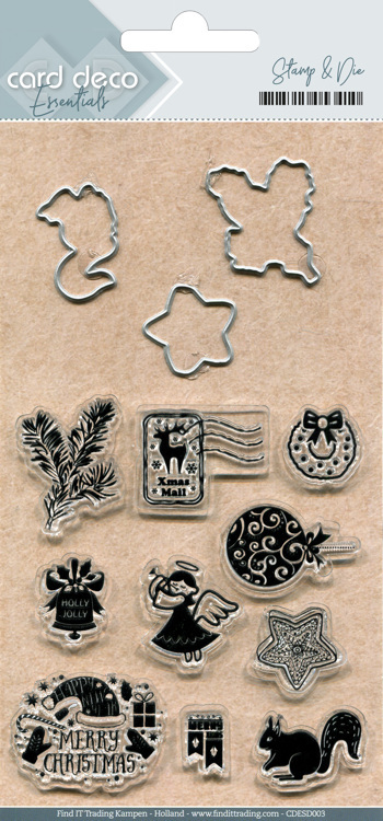 Card Deco Essentials; Clearstamps and Cutting 3