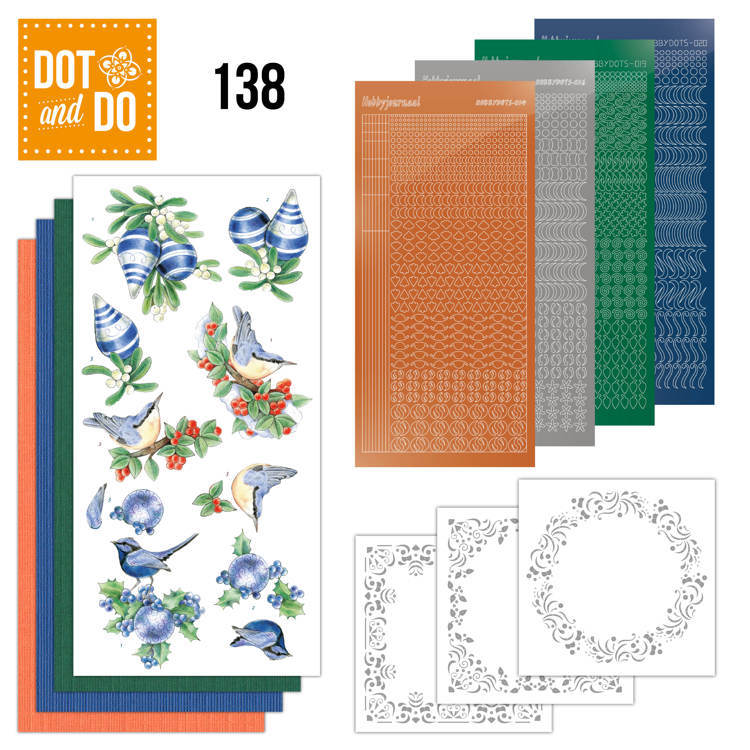 Dot and Do 138- Blue Christmas