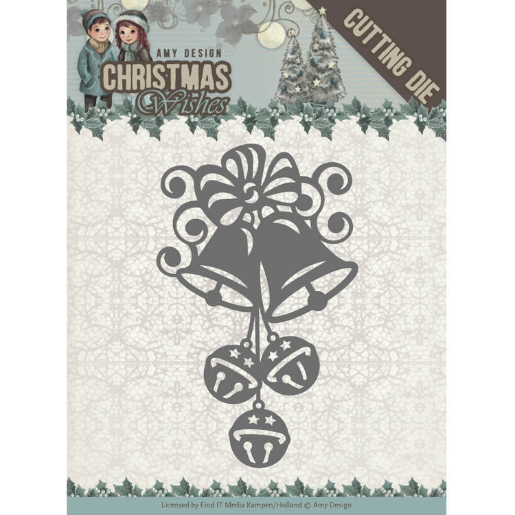 Amy Design: Christmas Wishes - Die - Christmas Bells