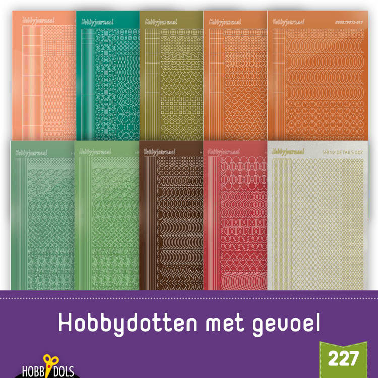 Hobbydols 227: Stickerset