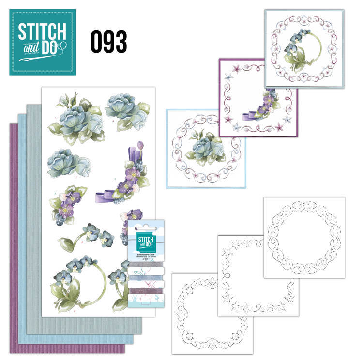 Stitch and Do 93 - Winter Flowers