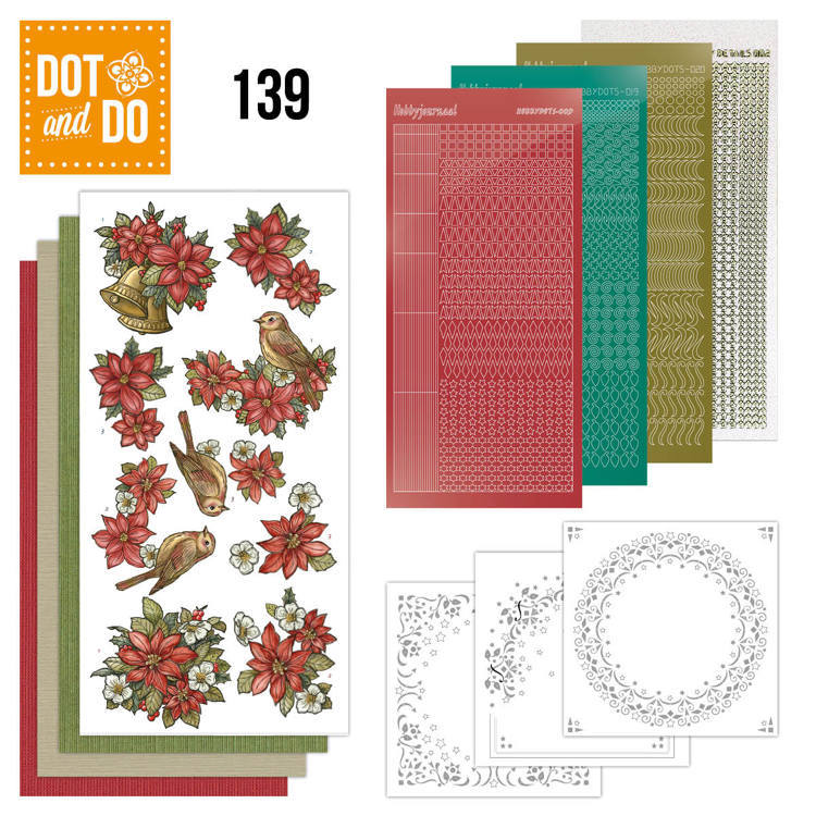Dot and Do 139: Poinsettia Christmas