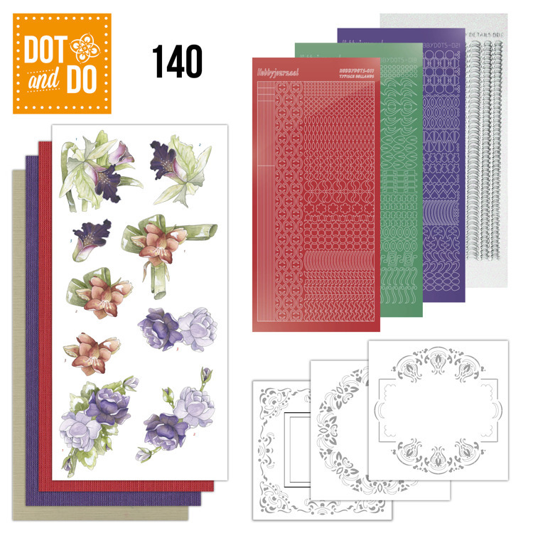Dot and Do 140; Winter Flowers